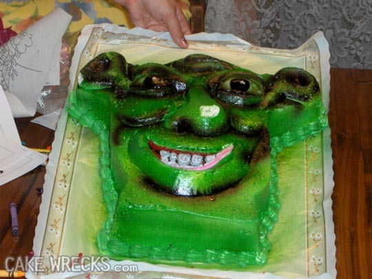 12 Spectacular Kids Birthday Cake Fails