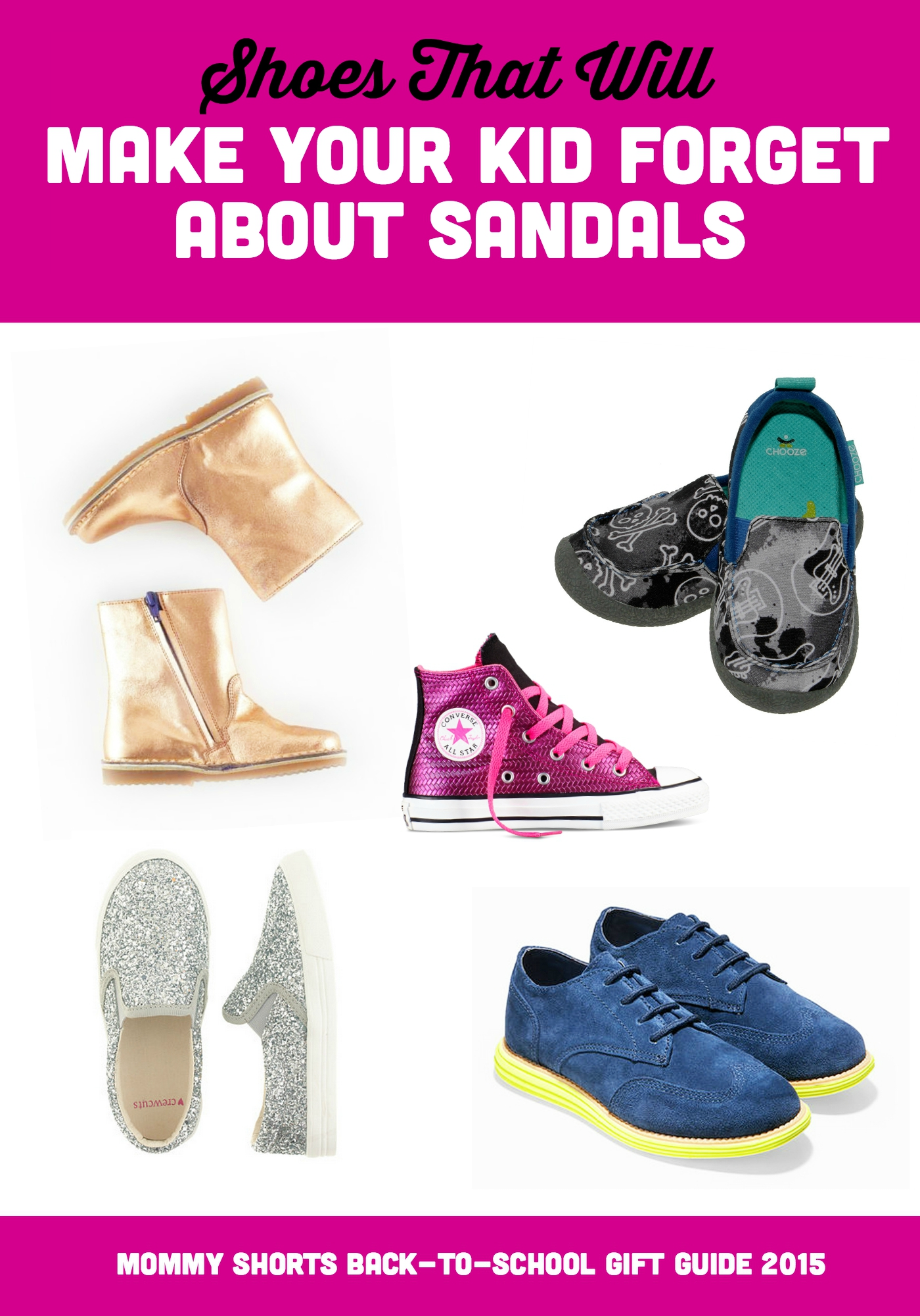 Shoes That Will Make Your Kid Forget About Sandals